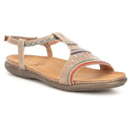 Naot/Yaleet Naot Odelia T-Strap Leather Sandals
