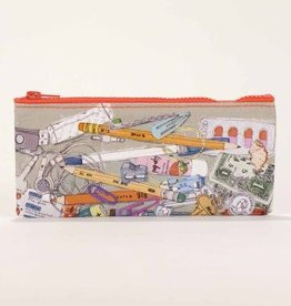 Blue Q Junk Drawer Pencil Case