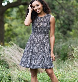 Mata Traders The Fine Print Dress