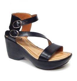 jafa Jafa Style 820 Wide Leather Band Sandal