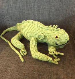 Margarete Vicinus Handmade Knit Iguana