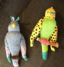Margarete Vicinus Handmade Knit Parrot