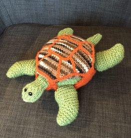 Margarete Vicinus knit tortoise