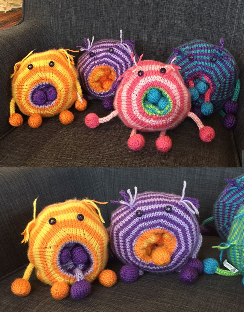 Margarete Vicinus Hurly Burly Knit Monster