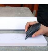 Batle Studio Small Peapod Graphite Object