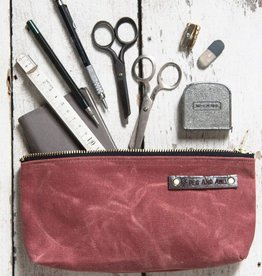 Peg and Awl Peg & Awl Medium Waxed Canvas Pouch