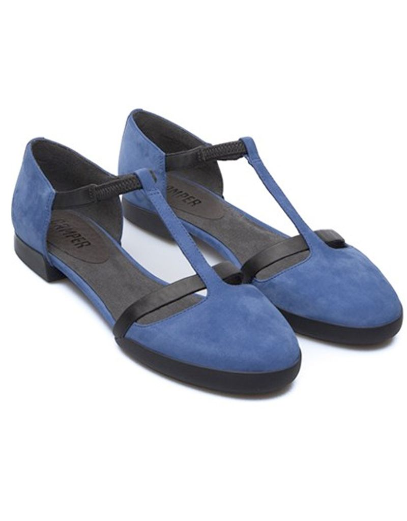 Camper Atlantic Casi T-Strap Flat Shoe