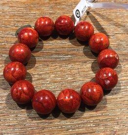 Nusantara Spirit Bracelet in Coral