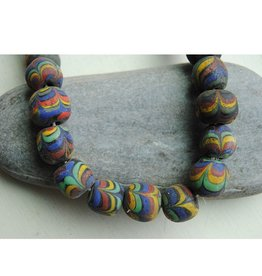 Nusantara Multicolor Glass Bead Necklace