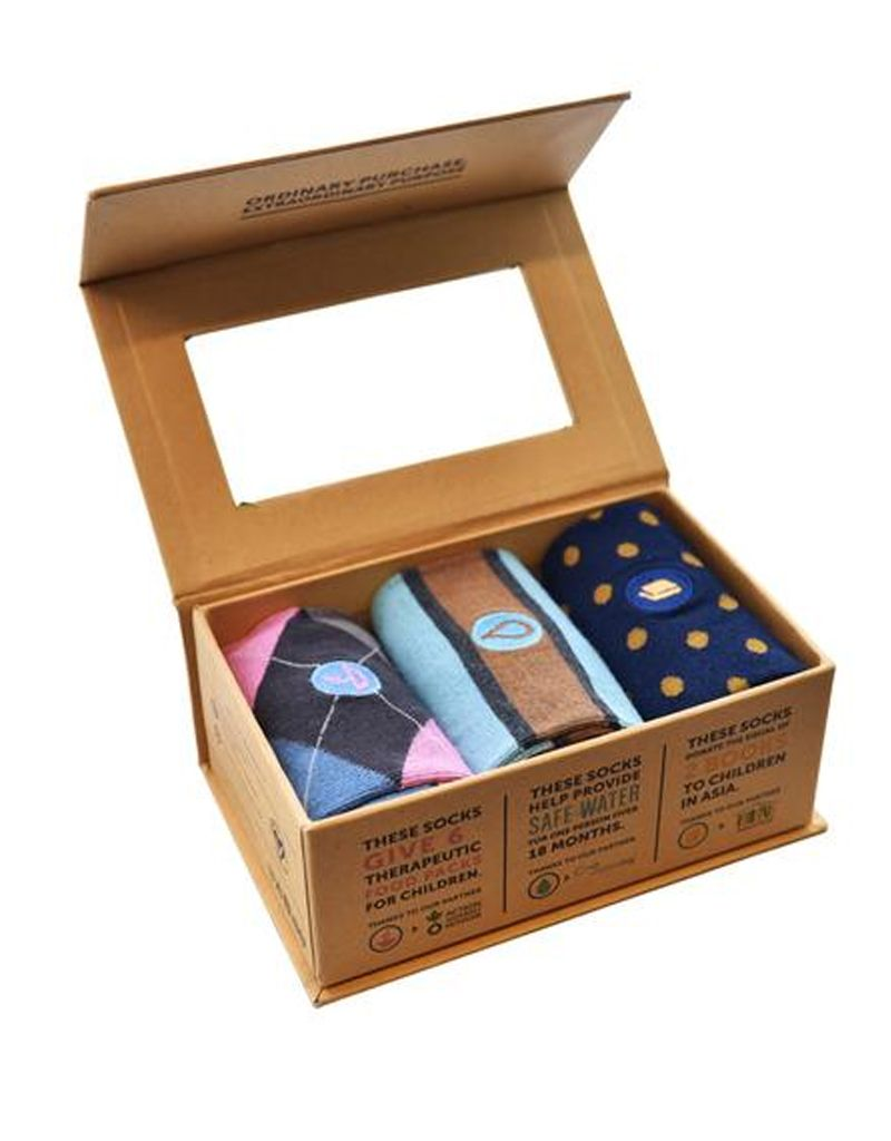 Conscious Step Conscious Step Men's Sock Box Collection II