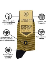 Conscious Step Socks That Give Books, Stripes