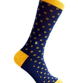 Conscious Step Conscious Step Men's Socks That Give Books, Polka Dots