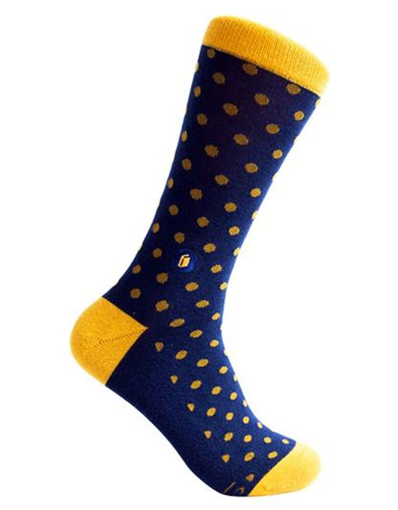 Conscious Step Socks That Give Books, Polka Dots