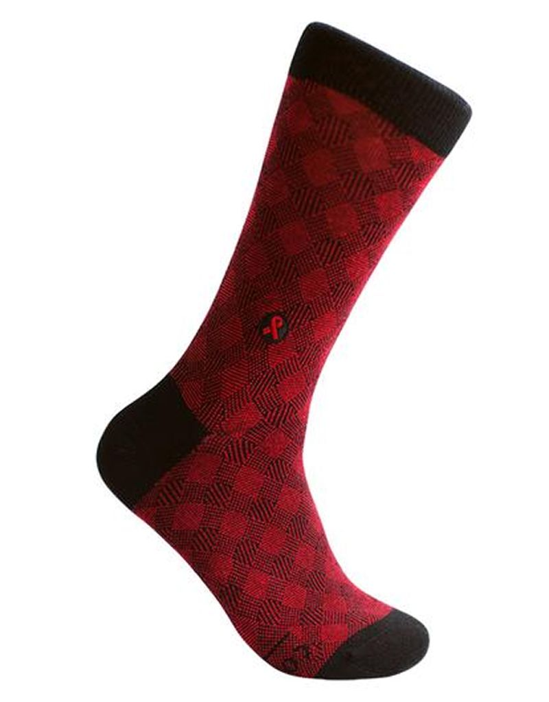 Conscious Step Socks That Treat HIV, Crosshatch