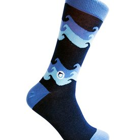 Conscious Step Conscious Step Men's Socks For Ocean Protection, Waves