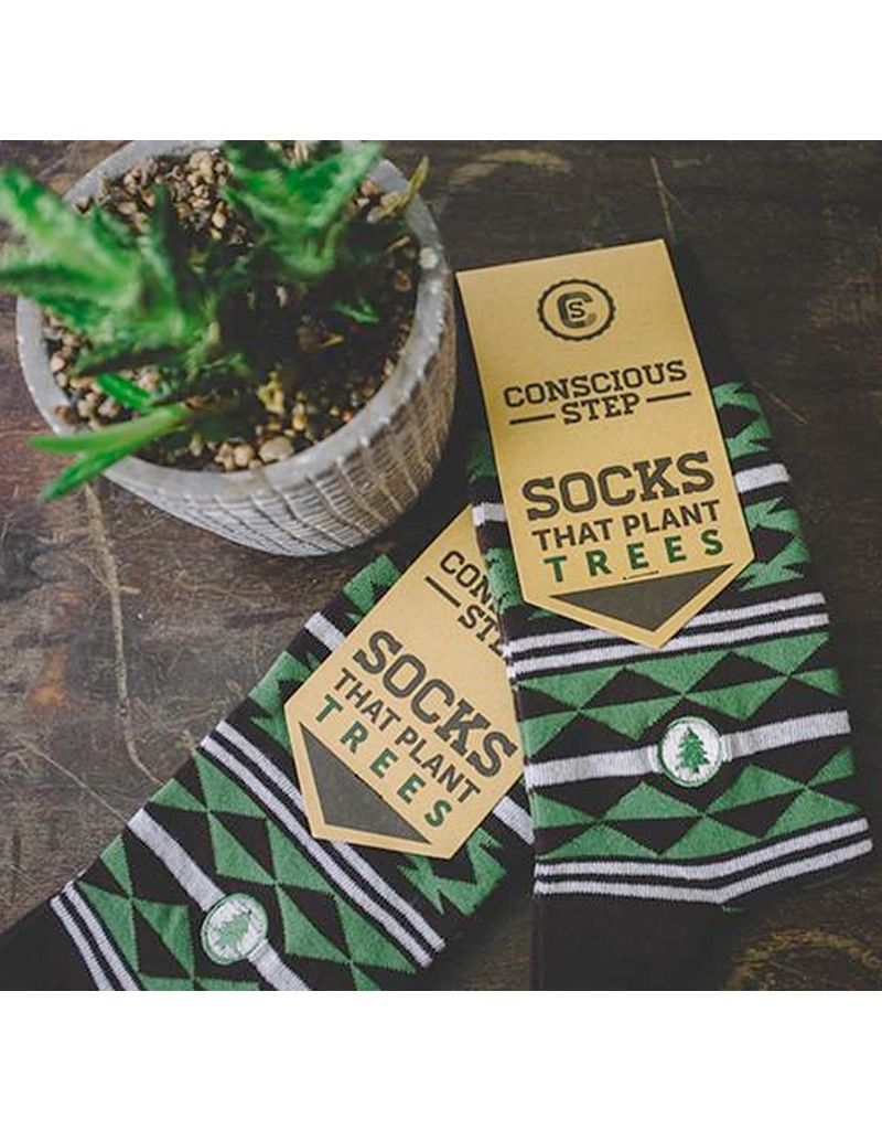Conscious Step Socks That Plant Trees, Aztec