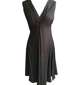 Dunia Vera Black Sleeveless Dress