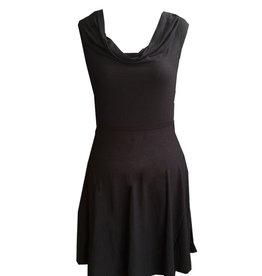 Dunia Sarah Black Flare Skirt