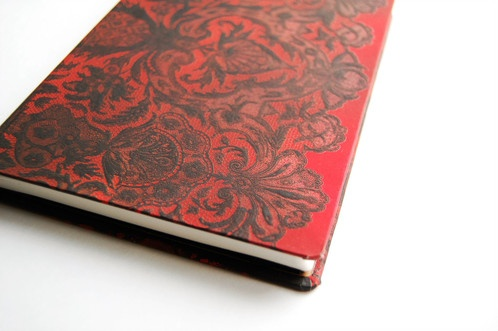 Hartley & Marks Rouge Boudoir Midi Lined Notebook