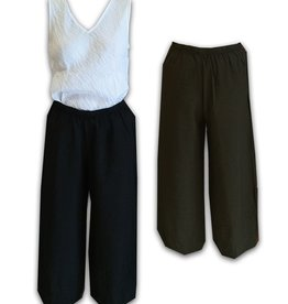 Cut Loose Cropped Parachute Pant w/ Darts