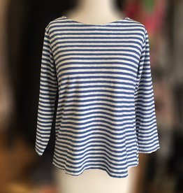 Cut Loose Cut Loose 3/4 Sleeve Boatneck Tee