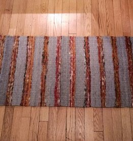 Oxidos Jute Runner Hand Crafted in Colombia, 19x59