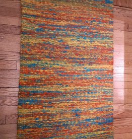 Oxidos Jute Area Rug Hand Crafted in Colombia, 28x43