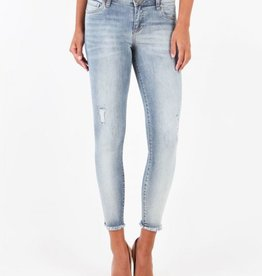 Kut from the Kloth Connie Ankle Skinny With Release Hem (Blessedness Wash)