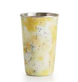 Illume Pineapple Cilantro Enameled Soy Candle Tumbler