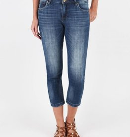 Kut from the Kloth Lauren Crop Straight Leg (Entrusted Wash)