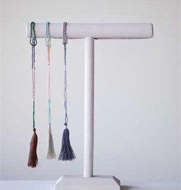 "Creative Co-op 32"" Lucinda Tassel Necklace"