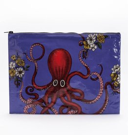 Blue Q Blue Q Octopus Jumbo Pouch