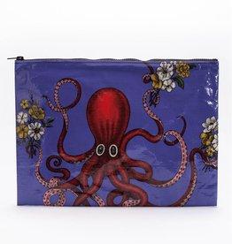 Blue Q Octopus Jumbo Pouch