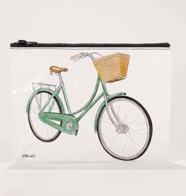 Blue Q Bicycles Zipper Pouch