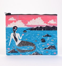 Blue Q Mermaid Zipper Pouch