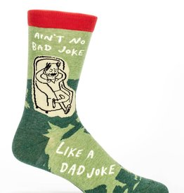 Blue Q Blue Q Dad Joke Men's Crew Socks