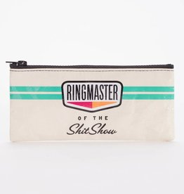 Blue Q Ringmaster Shitshow Pencil Case