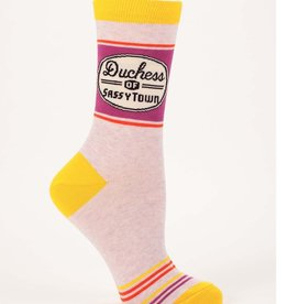 Blue Q Duchess of Sassytown Women's Crew Socks