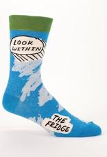 Blue Q Look Within Fridge Men's Socks