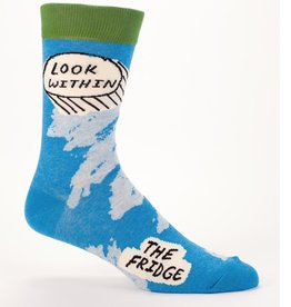 Blue Q Look Within Fridge Men's Socks