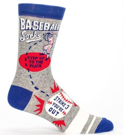 Blue Q Blue Q Baseball Men's Crew Socks