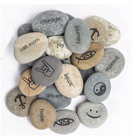 Garden Age Miracle Beach Pebble Pocket Stones - Regular