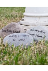 "Garden Age Miracle 4-6"" Natural Beach & River Stones - Engraved Phrases"