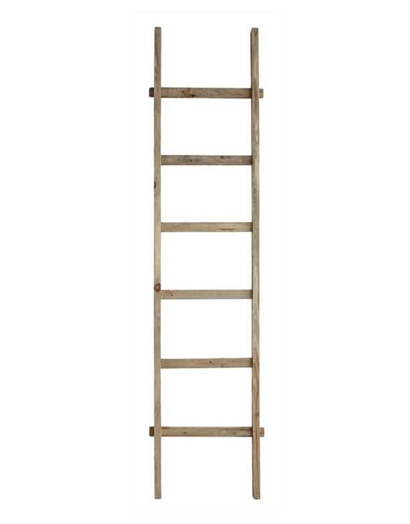 Decorative wooden ladder maria luisa boutique for Decor ladder