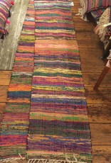 Elegant Additions Silk Woven Handmade Runner 2x8
