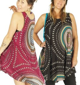 Zig Zag Mandala Summer Dress