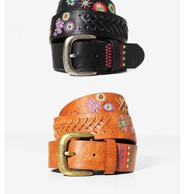 Desigual Desigual Mexican Floral Embroidered Belt