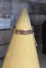Lucky 7 Southpaw Craft SS Queer Love Ring