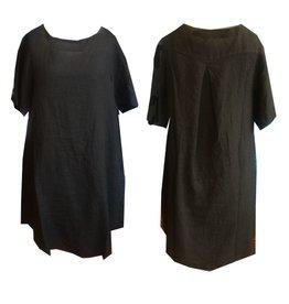 Cut Loose Cut Loose Hanky Linen Short Sleeve Dress