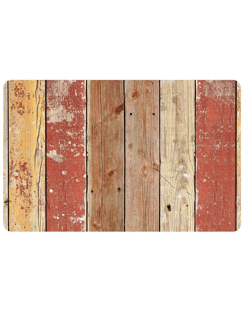 bungalow FoFlor 23 x 36 Accent Mat - Playground Plank